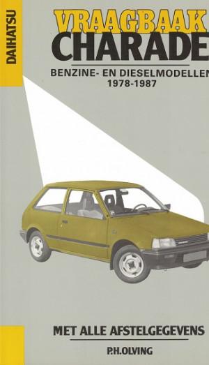 Vraagbaak Daihatsu Charade 1978-1987  Benzine en dieselmodellen