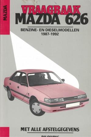 Vraagbaak Mazda 626 1987-1992. Benzine- en dieselmodellen