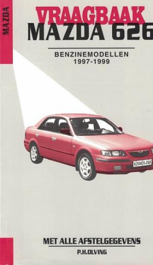 Vraagbaak Mazda 626. 1997-1999. Benzinemodellen