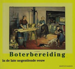 Boterbereiding in de late negentiende eeuw.
