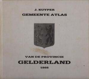 Gemeente atlas van de provincie Gelderland naar officiële bronnen bewerkt
