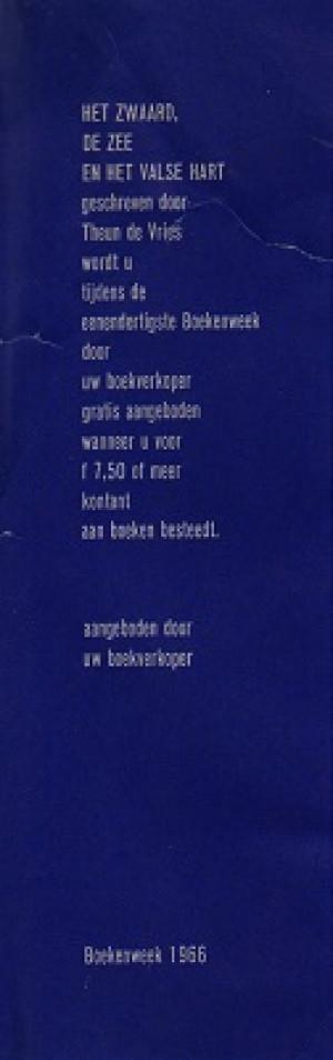 Boekenlegger Boekenweek 1966.
