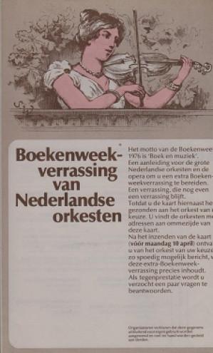 Inlegvel Boekenweekgeschenk 1976.