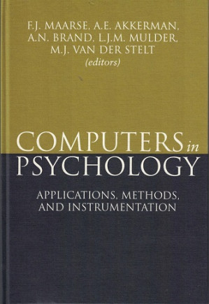 Computers in Psychology.  Applications, methods, and instrumentation