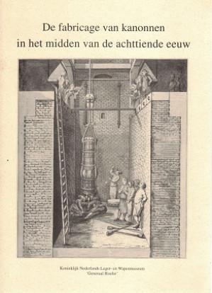 De fabricage van kanonen in het midden van de achttiende eeuw