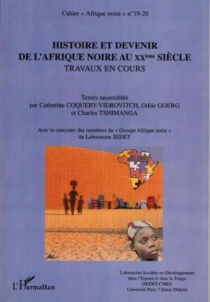 Histoire et devenir de l'Afrique noire au XXème siècle.