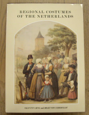 Regional Costumes of the Netherlands drawn from life.