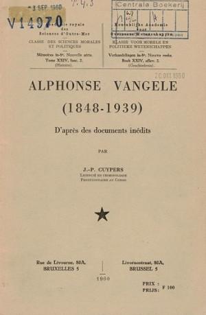 Alphonse Vangele (1848-1939)