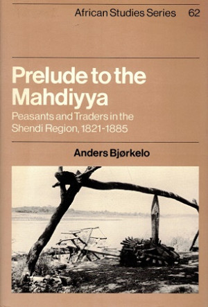 Prelude to the Mahdiyya