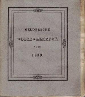 Geldersche Volks-Almanak voor 1839