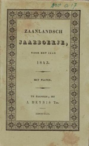 Zaanlandsch Jaarboekje voor het jaar 1843