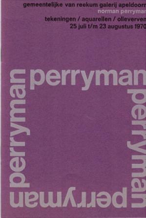 Norman Perryman. Tekeningen/Aquarellen/Olieverven