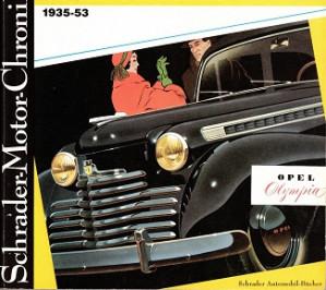 Opel Olympia 1935-53.