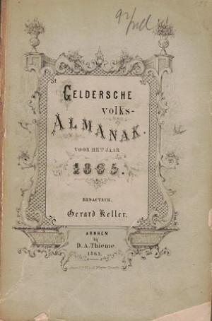 Geldersche Volksalmanak 1865