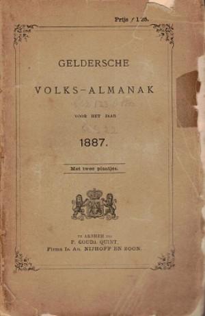 Geldersche Volksalmanak 1887