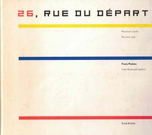 26, Rue du Départ. Mondrian's studio Paris 1931-1936