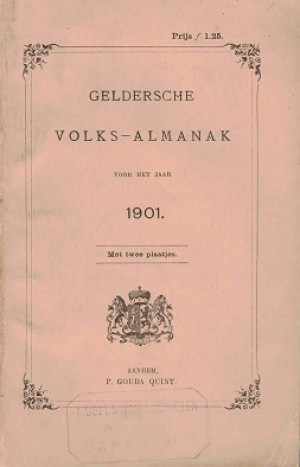 Geldersche Volks-Almanak voor het jaar 1901