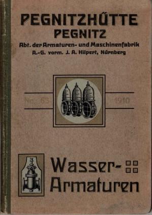 Abteilung der Armaturen- and Maschinenfabrik, Spezial-Katalog über Armaturen für Wasserwerke