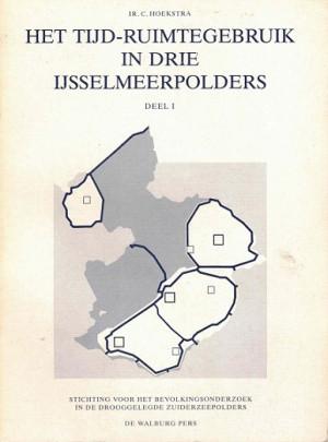 Het tijd-ruimtegebruik in drie IJsselmeerpolders.