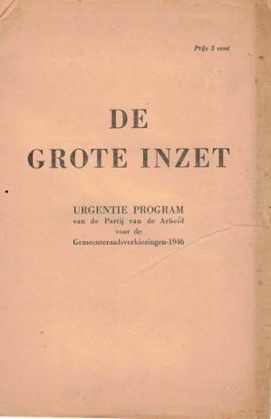 Gemeenteraadsverkeizingen Rotterdam 26 juli 1946
