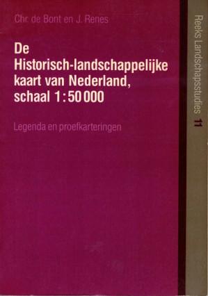 De historisch-landschappelijke kaart van Nederland, schaal 1 : 50.000.