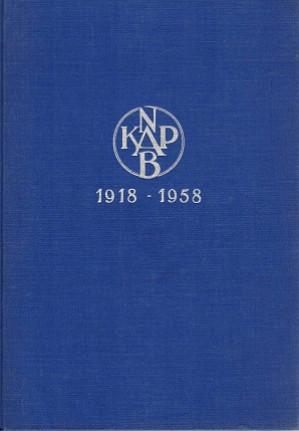 40 jaar bouwen. 1918-1958.