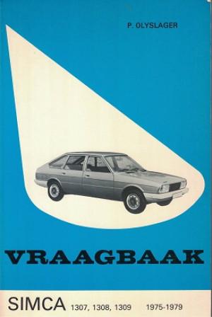 Vraagbaak Simca 1307, 1308, 1309 1975-1979.