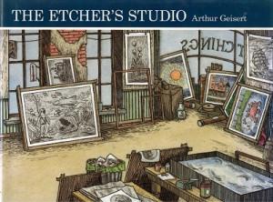 The etcher's studio