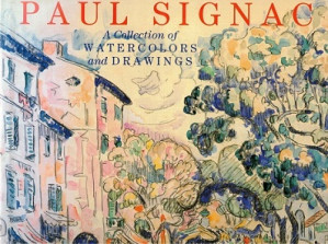 Paul Signac. A collection of watercolors and drawings