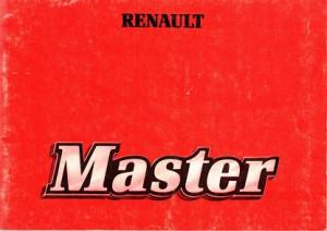 Renault Master. T30, T35, T 30 D, T 35 D. Bedienung und Wartung