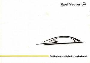 Opel Vectra. Bediening, veiligheid, onderhoud
