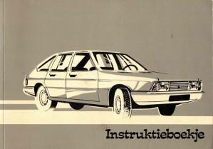 Chrysler. Instruktieboekje