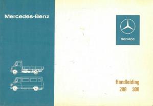 Mercedes-Benz. Handleiding 208 - 308
