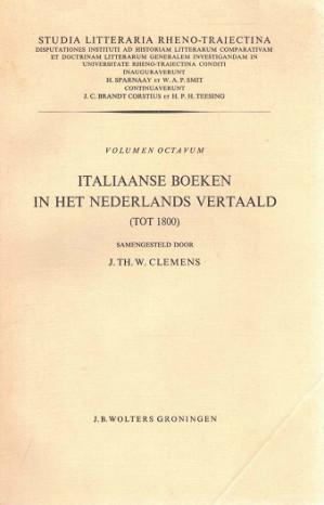 Italiaanse boeken in het Nederlands vertaald (tot 1800)