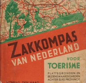 Zakkompas van Nederland voor toerisme. Plattegronden en bezienswaardigheden achter elke provincie.