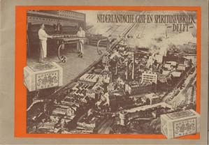 De gistfabricatie in de Nederlandsche Gist- en Spiritusfabriek te Delft en haar product de Koningsgist