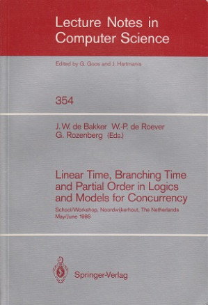 Linear time, branching time and partial order in logics and models for concurrency